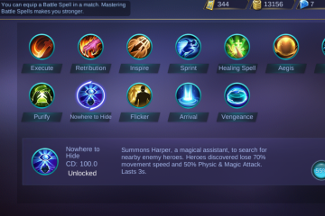 New Spell In Mobile Legends