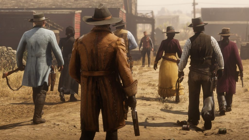"""Battle Royale Mode Red Dead Redemption 2 """"Gun Rush Mode"""" Officially Released!"""