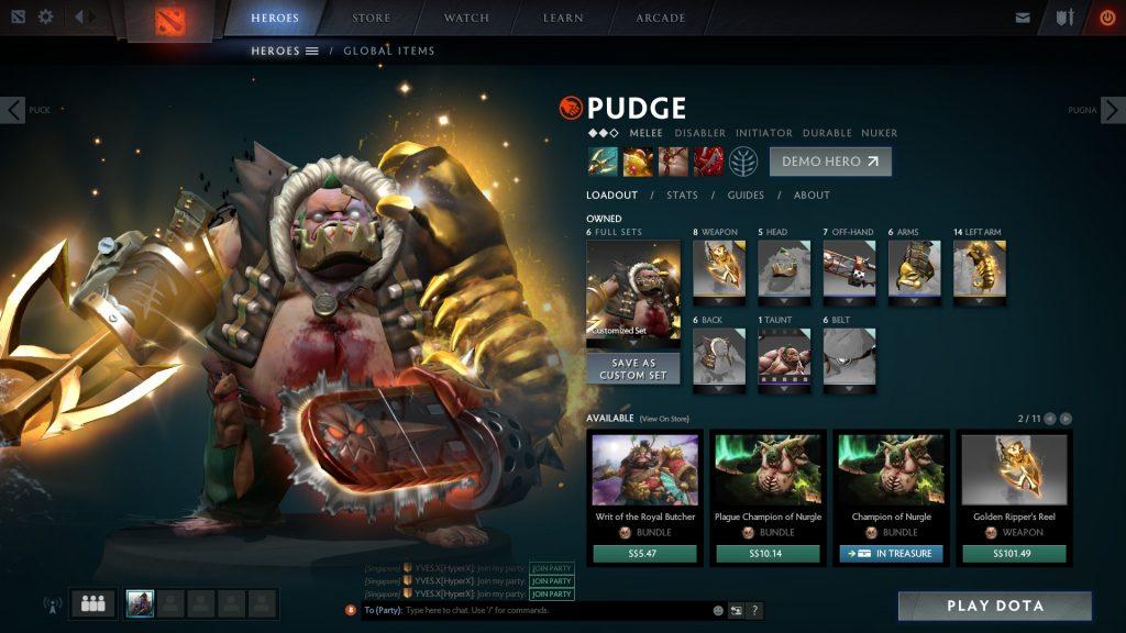 Pudge The Butcher ! Chop Chop Chop !