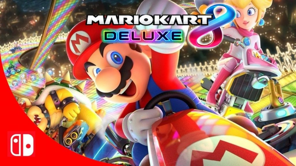 Mario Kart 8 Deluxe Released For Switch Console