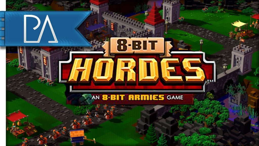 Since its release on PC game 2 years and got its own market, finally 8-bit Hordes were released on PS4. Still carrying the Retro atmosphere, which is typical with a picture of a box like Petroglyph. 8-bit Hordes are ready to compete with