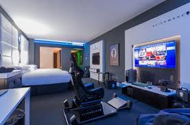 Special Hotel Room For Gamer from Alienware Gamers